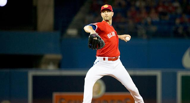 J.A. Happ will represent the Toronto Blue Jays in the All-Star Game. (Getty)
