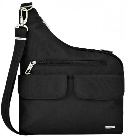 Anti-theft shoulder bags are made with lockable zippers and anti-slashing materials