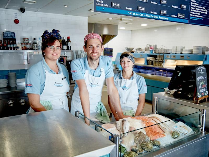 The Cod's Scallops in Wollaton, Nottingham, has been named Fish and Chip Shop of the Year at the National Fish and Chip Awards 2020: Scene Photography