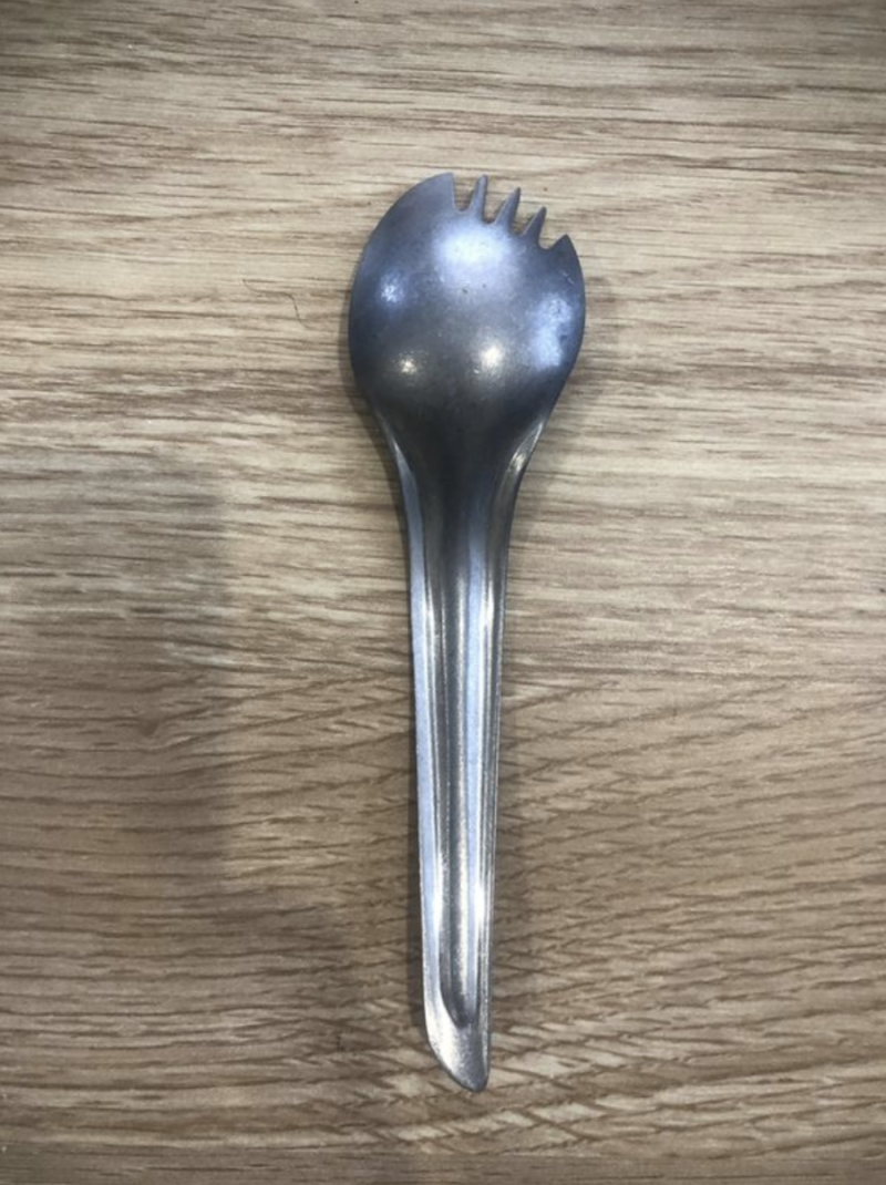 """A spork from Disneyland's """"Star Wars"""" Galaxy's Edge is for sale. (Photo: OfferUp)"""