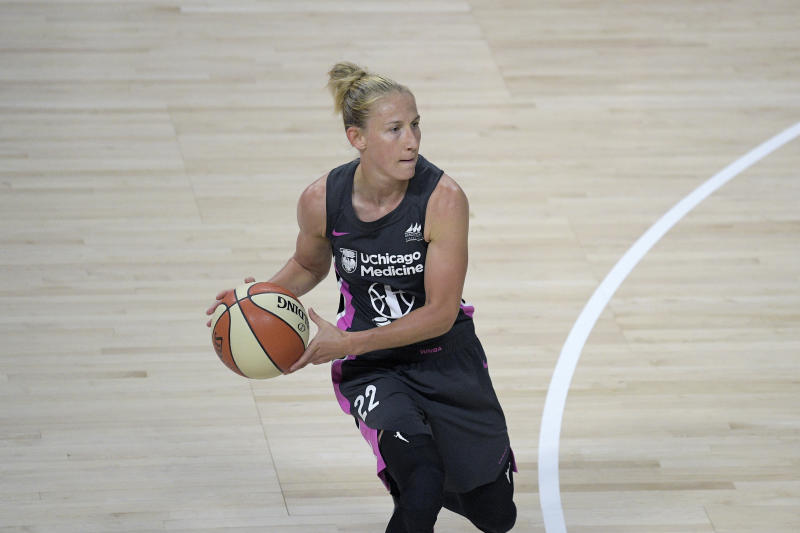 Chicago Sky guard Courtney Vandersloot