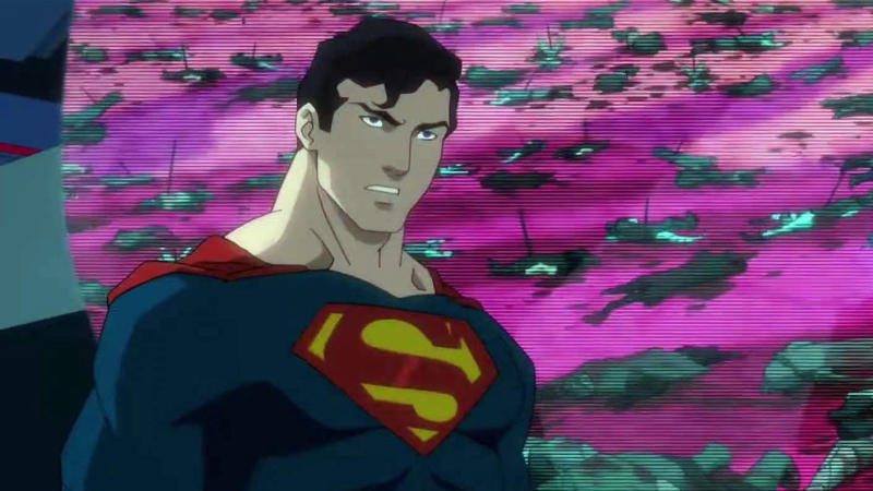 Superman in 'Justice League Dark: Apokolips War'. (Credit: DC/Warner Bros Animation)