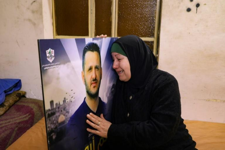 Um Hatem Abu Rizq lost one son to intra-Palestinian violence in Balata refugee camp in October and her other two have gone into hiding in fear for their lives