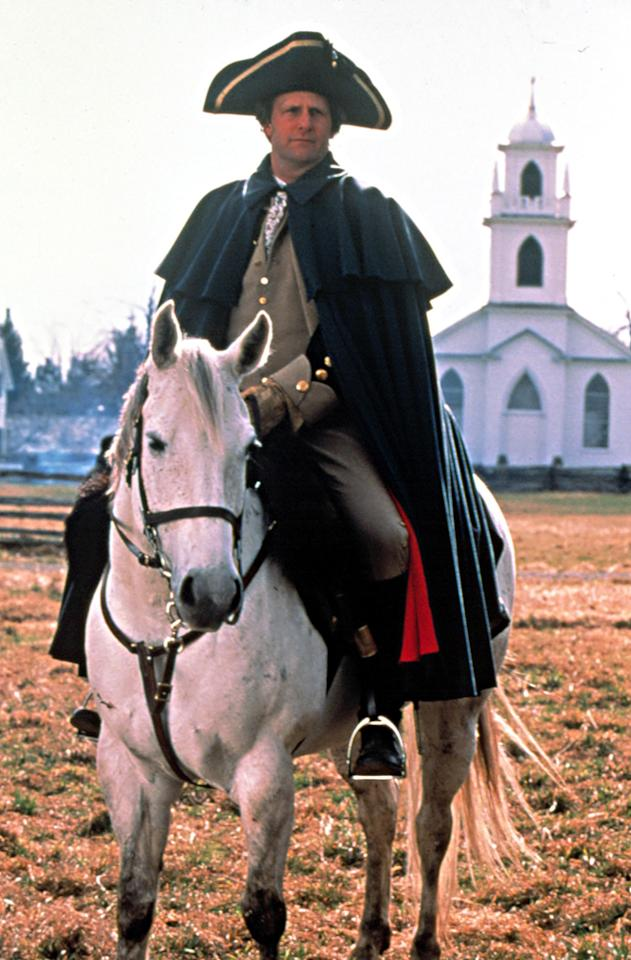 "Jeff Daniels as George Washington in 2000's ""The Crossing"""