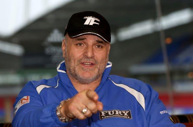 John Fury gave his views on whether his son Tyson and Anthony Joshua will fight this year