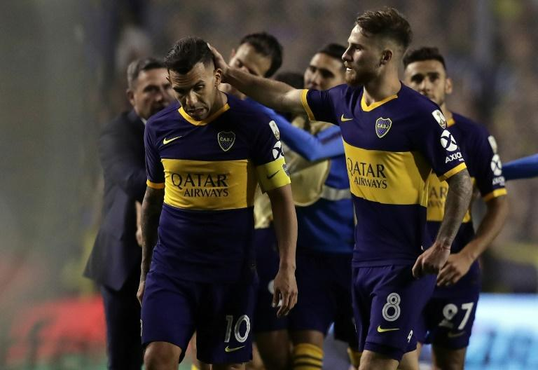 Boca failed to get revenge in a repeat of last year's final (AFP Photo/ALEJANDRO PAGNI)