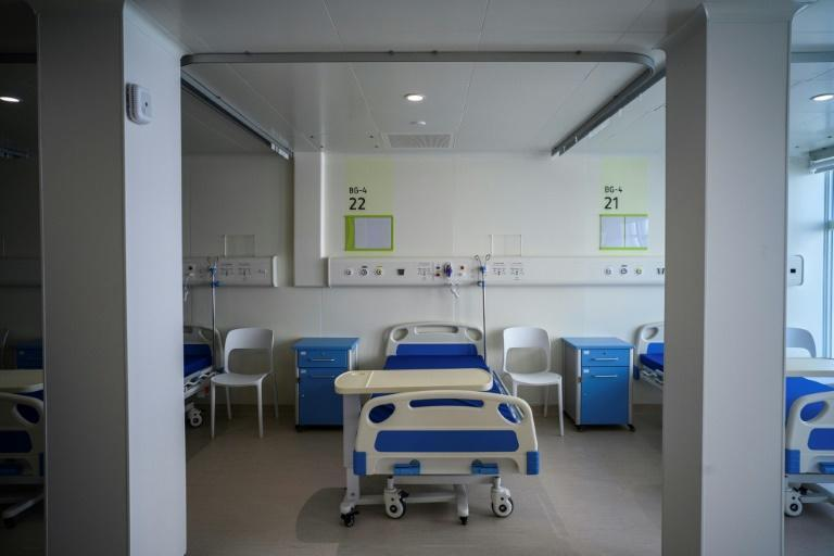 Anyone who tests positive for the coronavirus in Hong Kong is immediately taken to isolation wards -- regardless of whether they are symptomatic or not