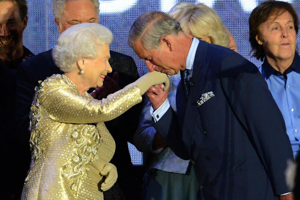 At the Queen's Jubilee in 2012AFP via Getty Images