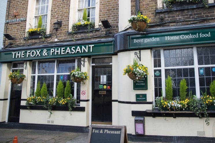 The Fox and Pheasant pub in Chelsea could soon have pop star James Blunt as its new landlord