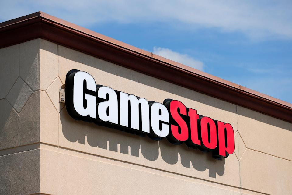 <p>Members of Reddit thread 'wallstreetbets' decided to pile in to GameStop with the aim of pushing up the share price</p> (AP)