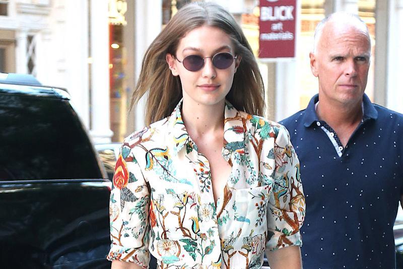 c2bab7beba7 Gigi Hadid s Favorite Mules Are Now 60 Percent Off