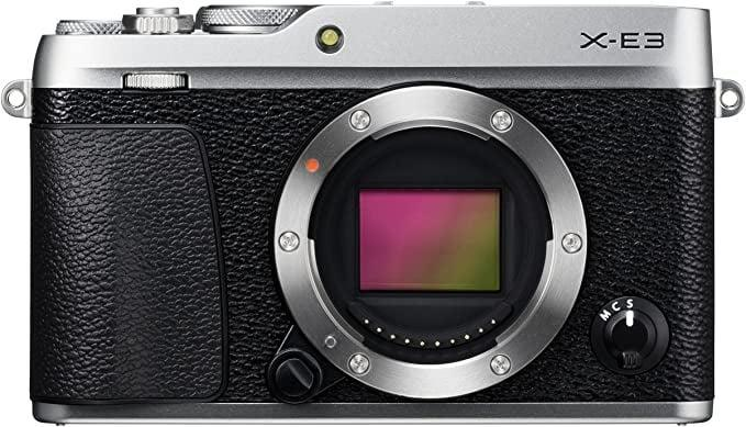 <p><span>Fujifilm X-E3 Mirrorless Digital Camera, Silver (Body Only)</span> ($500, originally $700)</p>