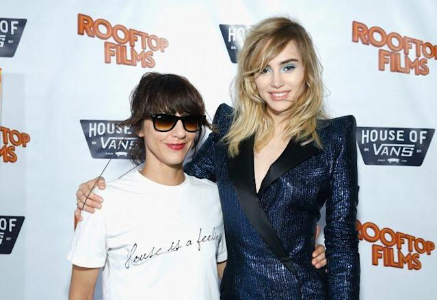 Ana Lily Amirpour and Suki Waterhouse (Getty Images)