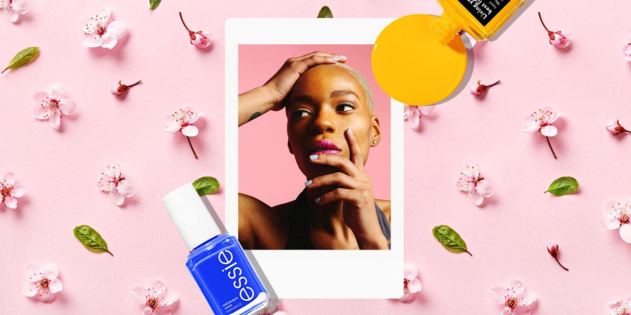 <p>Springtime is just around the corner, which means it's once again time to break out your pretty pastels and bold hues. Sure, pigmented lipsticks and eyeliners can get intimidating, so why not try brightening things up on the tips of your fingers with a spring nail polish? After all, 'tis the season to refresh your go-to mani with some fun and playful neons, shimmers, and more.</p><p>We chatted with celebrity nail artists to get the scoop on all things spring nail trends, so give your next manicure the perfect seasonal refresh with these pretty shades.</p>