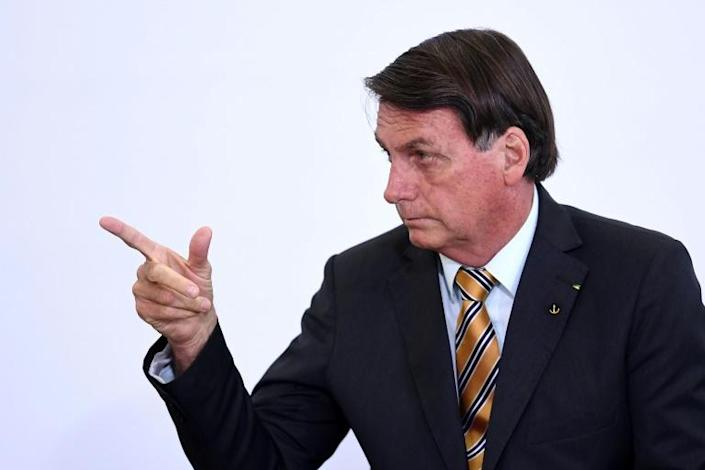 "Brazilian President Jair Bolsonaro, who has downplayed the novel coronavirus pandemic since the outset, has dismissed talk of a second wave as ""gossip"""