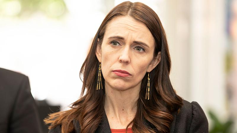 Pictured here, New Zealand PM Jacinda Ardern is confident Australia's Bledisloe Cup concerns have been addressed.