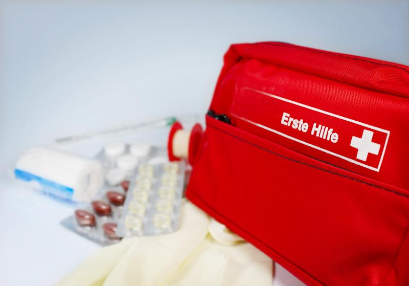 first aid box for travelling