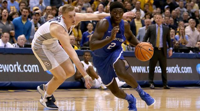 Where will Khyri Thomas go in the draft? The Crossover's Front Office breaks down his strengths, weaknesses and more in its in-depth scouting report.