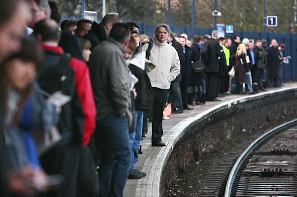 Travel misery for rail commuters