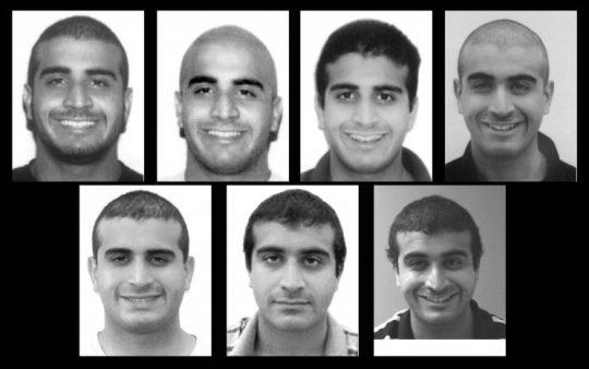 State security guard licensing photos of Omar Mateen since 2007. (Florida Department of Agriculture and Consumer Services)