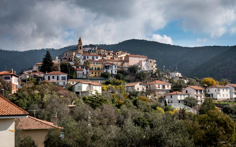 Principality of Seborga in Liguria, Italy - Credit: Andrew Hasson