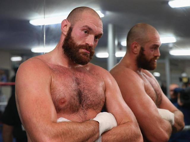 Tyson Fury is the joker in the pack (Getty)