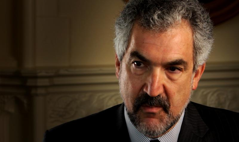 "This undated publicity film image released by Rocky Mountain Pictures shows Middle East expert Daniel Pipes in the documentary film, ""2016: Obama's America."" Despite the unconventional release of ""2016: Obama's America,"" the movie is among the most successful political documentaries of all time and it doesn't show signs of cooling down ahead of the presidential election. (AP Photo/Rocky Mountain Pictures)"