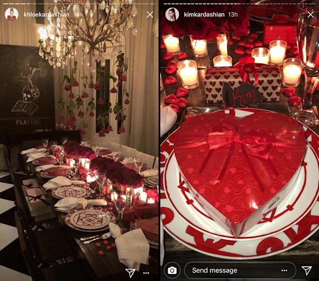 Kris went all-out with the decorations. (Images: Instagram)