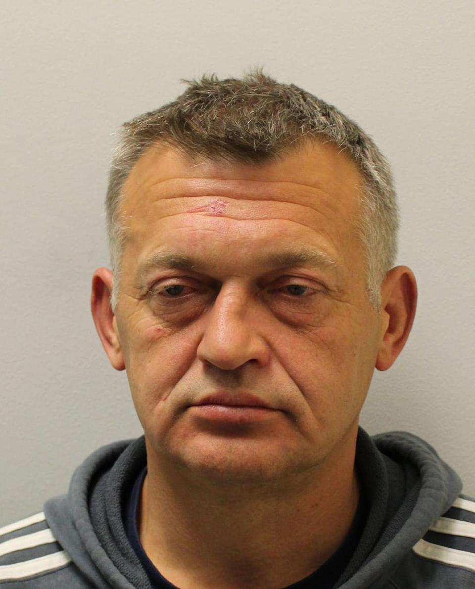 Petras Zalynas may have gone to Germany, according to police. (Met Police)