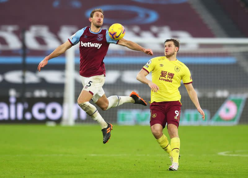 Premier League - West Ham United v Burnley