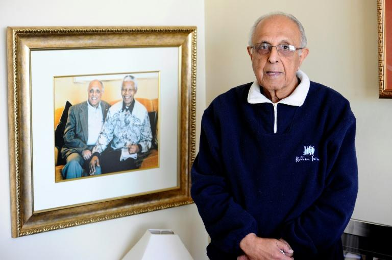 Ahmed Kathrada (pictured) was one of Nelson Mandela's closest colleagues in South Africa's long struggle against white rule