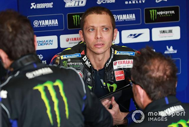 """Valentino Rossi, Yamaha Factory Racing <span class=""""copyright"""">Gold and Goose / Motorsport Images</span>"""