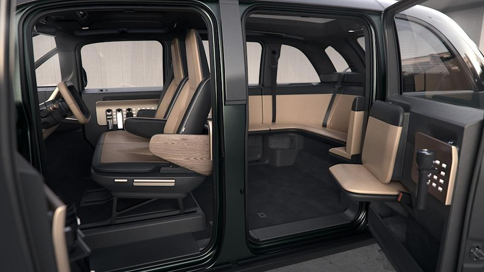 A look at the inside of the Adventure edition of the electric van. - Credit: Canoo