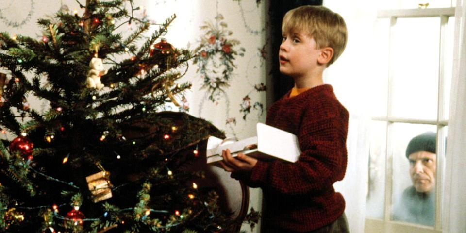 "<p>It's been almost 30 years since the McCallisters left their eight-year-old son home alone on Christmas, but the funhouse hijinks between Macaulay Culkin's Kevin and a pair of bumbling burglars (Joe Pesci and Daniel Stern) make us laugh harder with every passing holiday. <a class=""link rapid-noclick-resp"" href=""https://www.amazon.com/dp/B0031QNMKK?tag=syn-yahoo-20&ascsubtag=%5Bartid%7C10056.g.13152053%5Bsrc%7Cyahoo-us"" rel=""nofollow noopener"" target=""_blank"" data-ylk=""slk:Watch Now"">Watch Now</a></p>"