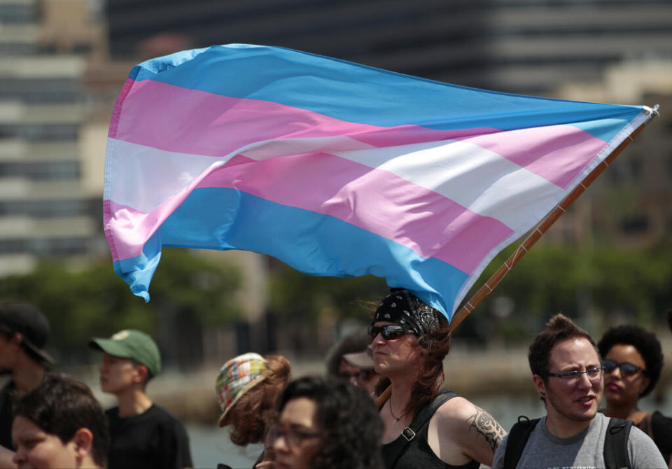 A growing number of Americans personally know someone who identifies as transgender. (AP Photo/Frank Franklin II)