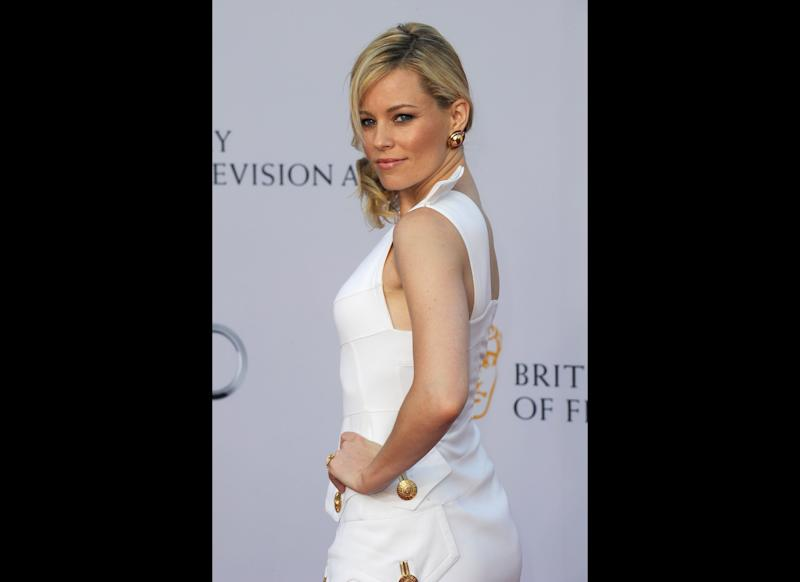 Actress Elizabeth Banks arrives at the BAFTA Brits To Watch event held at the Belasco Theatre on July 9, 2011 in Los Angeles, California. (Getty)