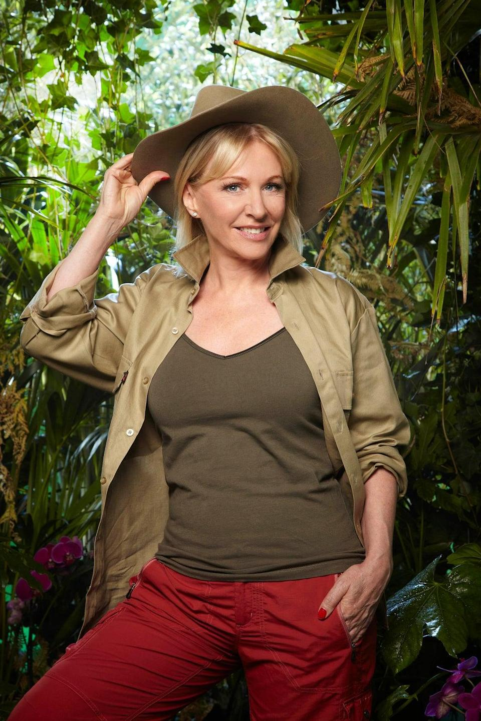 Undated handout photo issued by ITV of I'm A Celebrity…Get Me Out Of Here! contestant Nadine Dorries (ITV/PA) (PA Media)