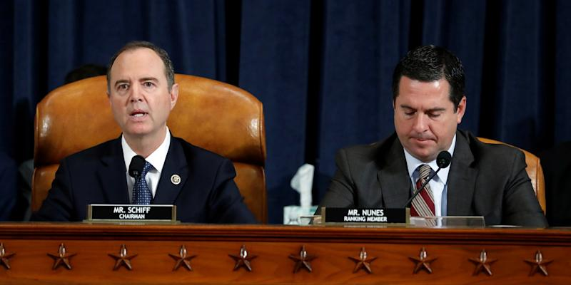 Adam Schiff and Devin Nunes
