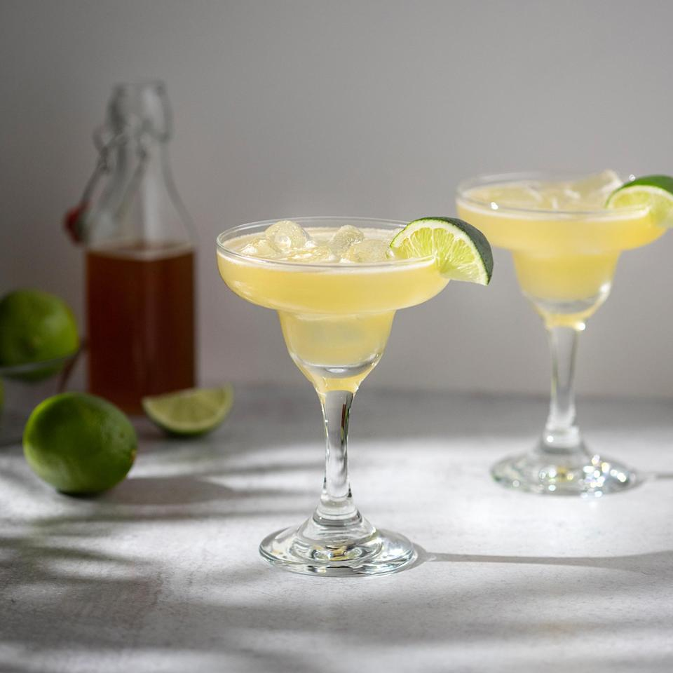 <p>This fun tequila cocktail uses hot honey for a twist on the popular spicy margarita. An aged tequila like a reposado works especially well with the earthy and floral flavors of honey. If you prefer a cocktail with slightly less of a kick, feel free to use half regular honey and half hot honey.</p>