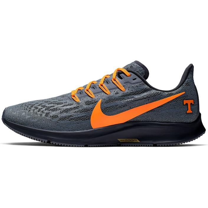 Men's Nike Gray/Tennessee Orange Tennessee Volunteers Air Zoom Pegasus 36 Sneakers