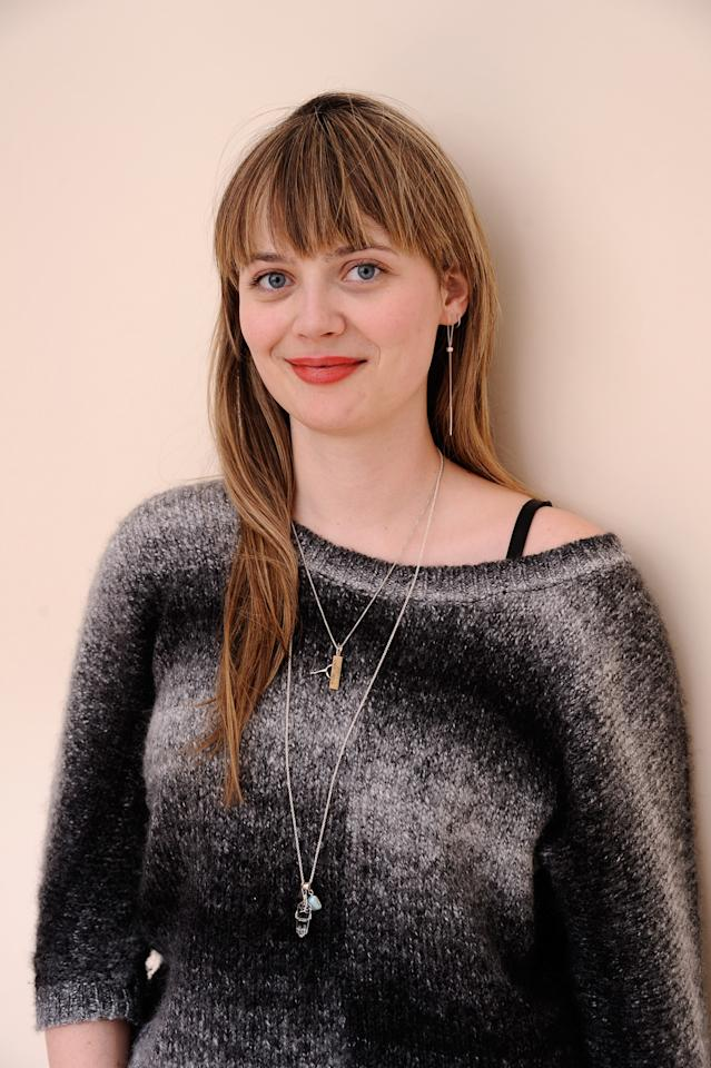 PARK CITY, UT - JANUARY 24:  Actress Ruthie Doyle poses for a portrait during the 2012 Sundance Film Festival at the Getty Images Portrait Studio at T-Mobile Village at the Lift on January 24, 2012 in Park City, Utah.  (Photo by Larry Busacca/Getty Images)