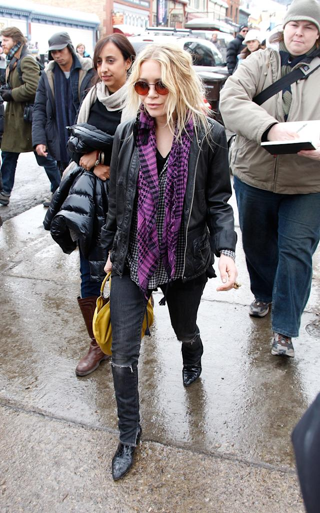 <p>Remember when Mary-Kate Olsen still acted? In 2008, she was at Sundance to support her movie <em>The Wackness</em>. Since then, she had roles in the sitcom <em>Samantha Who?</em> and in the 2011 movie <em>Beastly. </em>Now she is busy focusing on her fashion empire with her twin sister, Ashley Olsen. (Photo: Frazer Harrison/Getty Images) </p>