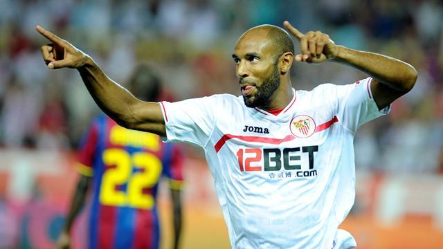 Kanoute in action for Sevilla (AFP)