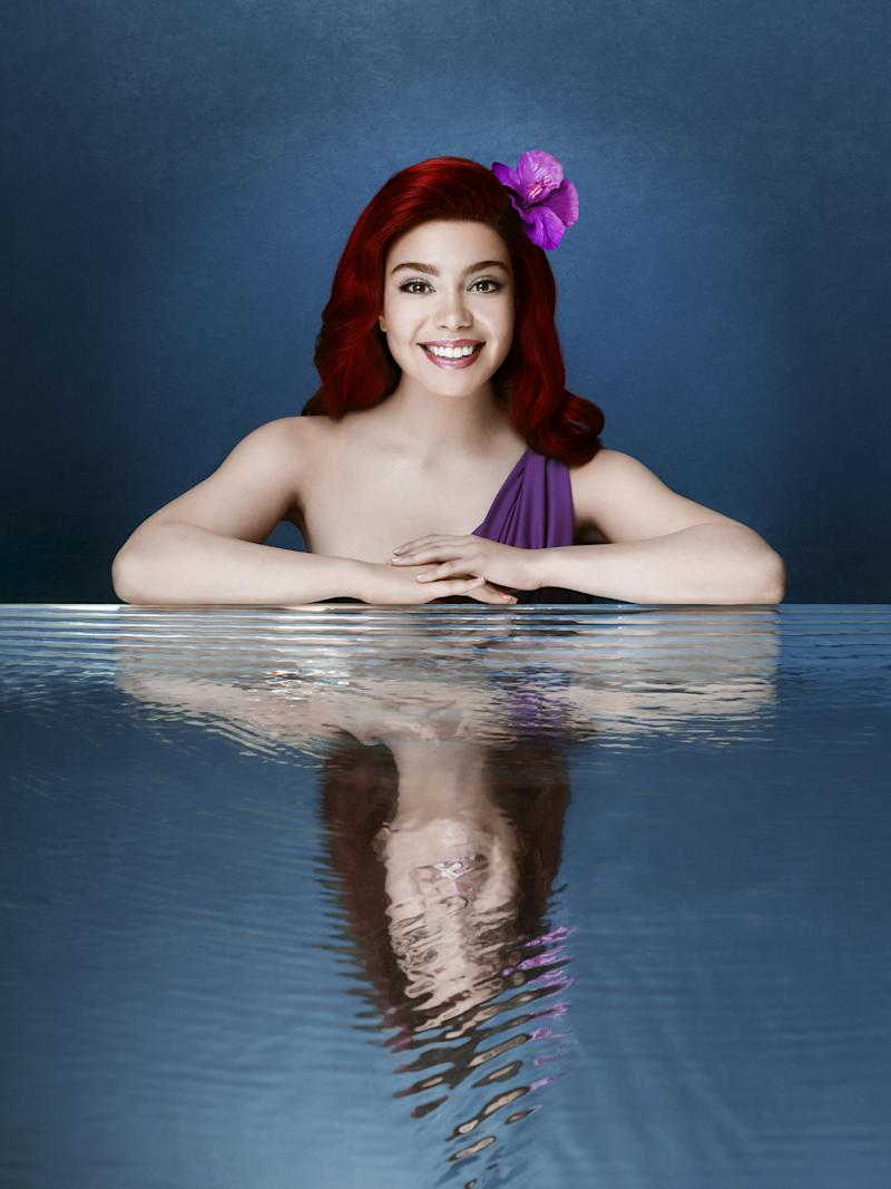 """Little Mermaid Live"" Drops First Photos of Auli'i Cravalho as Ariel"