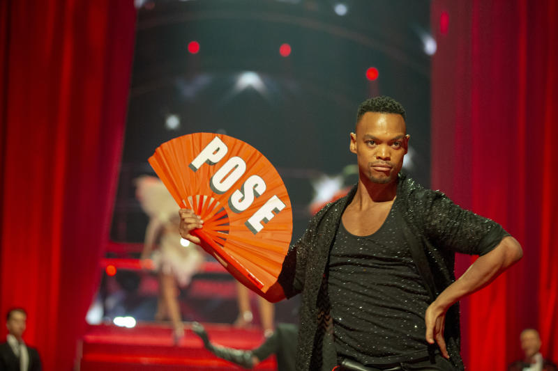 Johannes Radebe joined the Strictly Come Dancing team last year. (BBC / Guy Levy)