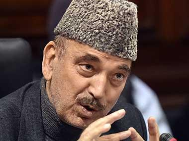 Congress defends Ghulam Nabi Azad's remarks on Jammu and Kashmir, asks what's wrong in being concerned for civilians