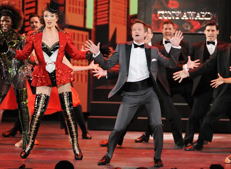 Actor Neil Patrick Harris performs on stage at the 67th Annual Tony Awards, on Sunday, June 9, 2013 in New York. (Photo by Evan Agostini/Invision/AP)