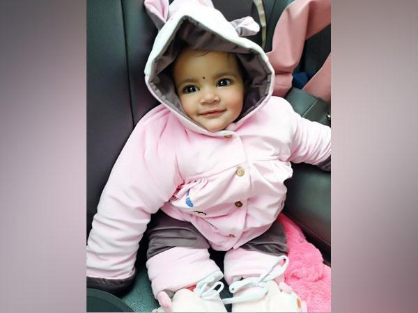 Dhanishtha, 20-month-old toddler who saved five lives (Photo/ANI)