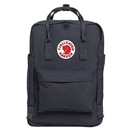 """<p><strong>Fjallraven</strong></p><p>amazon.com</p><p><strong>$119.95</strong></p><p><a href=""""http://www.amazon.com/dp/B00B6BB1LY/?tag=syn-yahoo-20&ascsubtag=%5Bartid%7C10055.g.27508273%5Bsrc%7Cyahoo-us"""" rel=""""nofollow noopener"""" target=""""_blank"""" data-ylk=""""slk:Shop Now"""" class=""""link rapid-noclick-resp"""">Shop Now</a></p><p>Swedish brand Fjallraven's simple backpack style called Kanken has been around since 1978, and this version <strong>makes the classic even better with an added laptop pocket</strong>. (The <a href=""""https://www.amazon.com/Fjallraven-Classic-Heritage-Responsibility-Graphite/dp/B002OWETK4/?tag=syn-yahoo-20&ascsubtag=%5Bartid%7C10055.g.27508273%5Bsrc%7Cyahoo-us"""" rel=""""nofollow noopener"""" target=""""_blank"""" data-ylk=""""slk:original style"""" class=""""link rapid-noclick-resp"""">original style</a> is a tad smaller and doesn't have a designated tech area.) When your back needs a break, you can carry this backpack by the handles on top, which also snap together. </p>"""