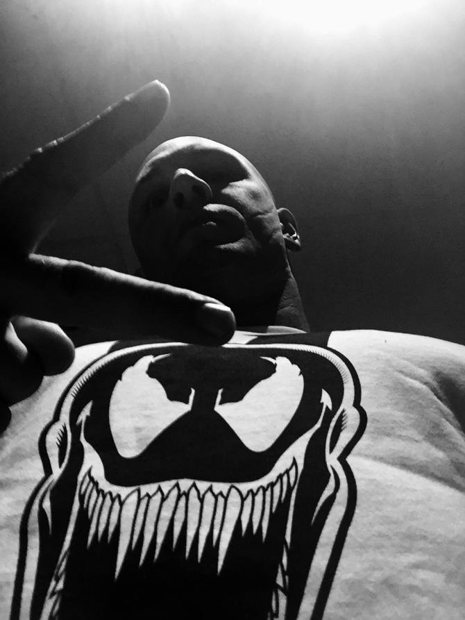 Meet the new Eddie Brock. (Credit: Tom Hardy)